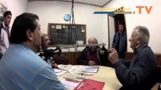 """Gustavo Lapaz """"mano a mano"""" en el programa de Navarro."""