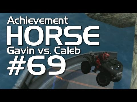 Halo: Reach - Achievement HORSE #69! (Gavin vs. Caleb) | Rooster Teeth