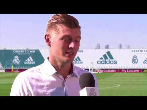 [English Subtitles] Toni Kroos first Spanish interview for RMTV