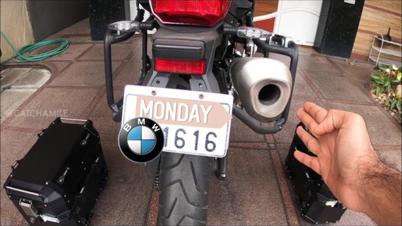 UNBOXING & INSTALLING PANNIERS ON THE F850GS
