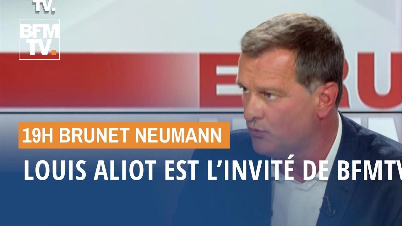 Louis Aliot est l'invité de BFMTV