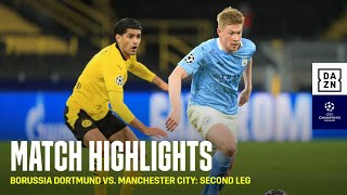 HIGHLIGHTS | Borussia Dortmund vs. Manchester City: Second Leg (UEFA Champions League 2020-21: QFs)