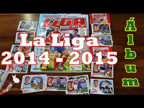 Album de cromos La Liga da Espanha 2014 - 2015 figurinhas campeonato Espanhol Panini Este