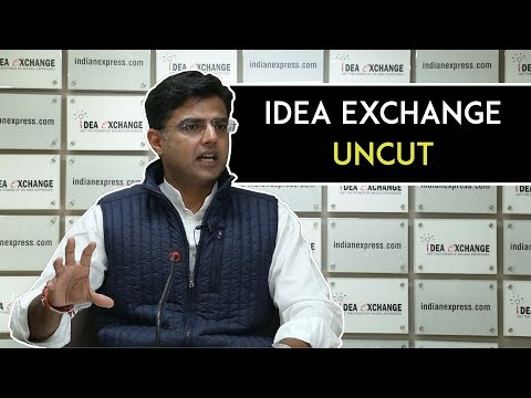 Idea Exchange Uncut: Sachin Pilot On Rajasthan Bypolls, Raje Govt. & More