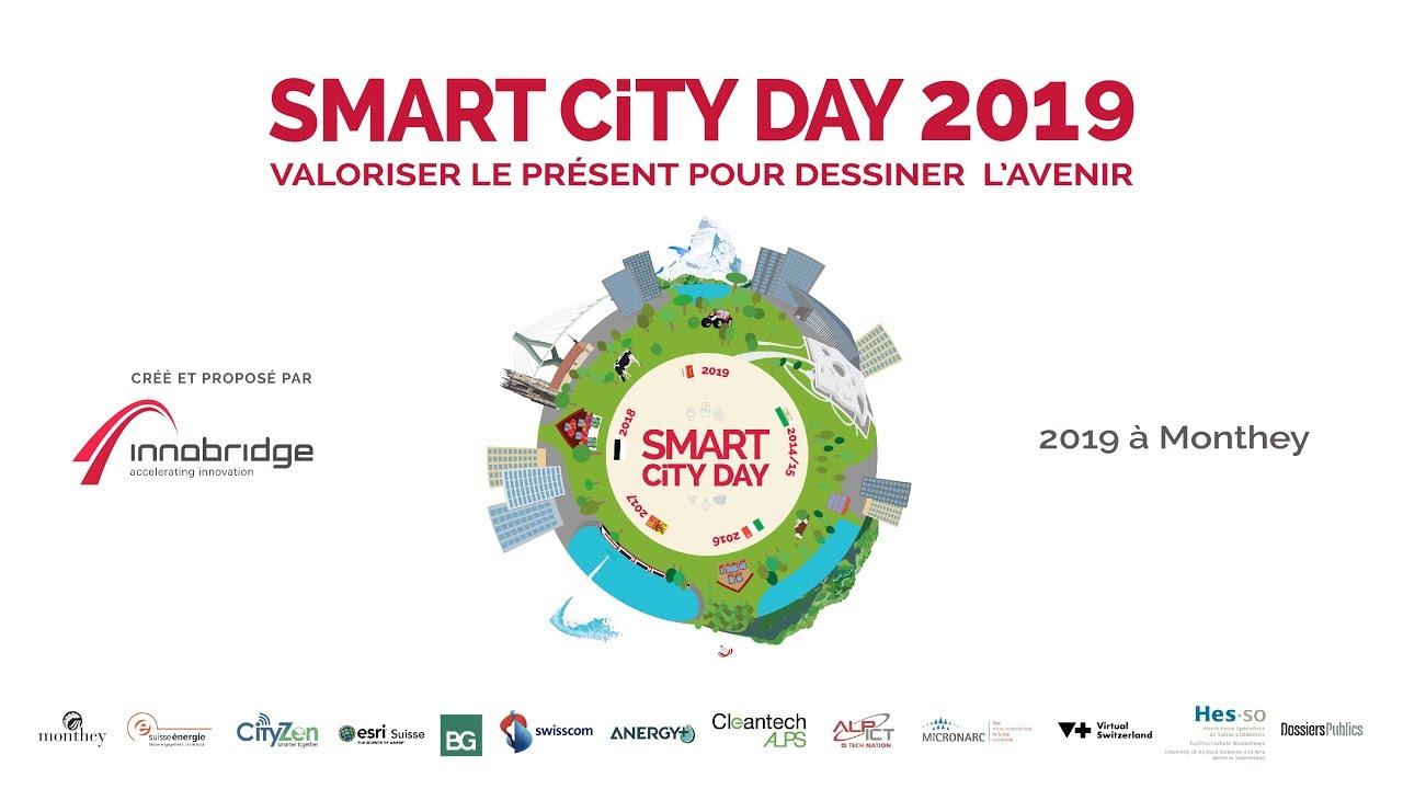 Smart City Day 2019 - SCD'19 - 6ème édition, Monthey - by Innobridge