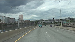 Interstate 5 North in Portland, Oregon