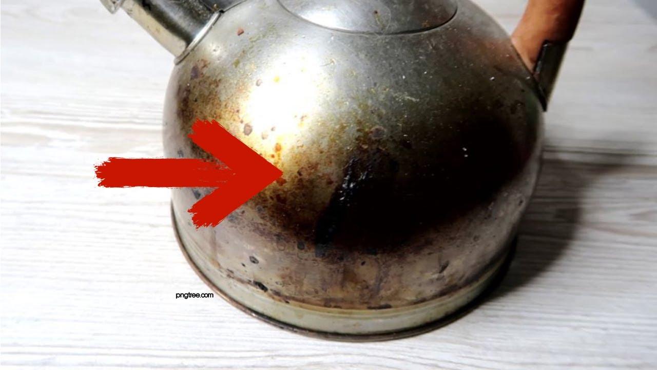 Как ОТМЫТЬ чайник за 5 МИНУТ