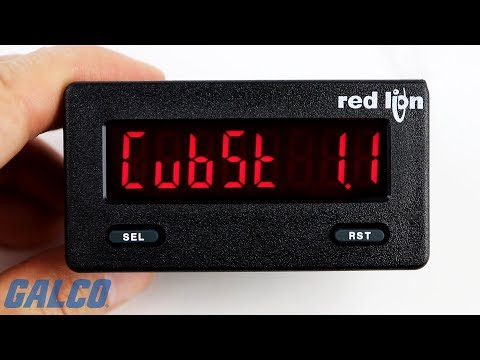 Red Lion Multifunction Counter Timers, CUB5T Series