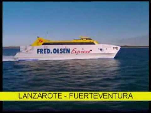 Trayectos Fred.Olsen Express