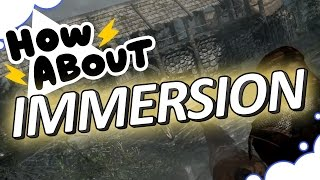 What Makes a Game Immersive? - HOW ABOUT THIS GAME? - GrumpOut