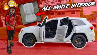 PUTTING ALL WHITE CUSTOM ULTRA LEATHER SEATS IN MY TRACK HAWK *EXTREMELY OVER THE TOP*