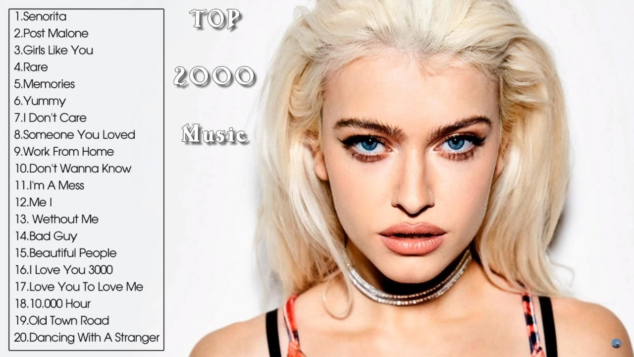 TOP 2000 MUSIC HITS - NEW POP SONGS 2020