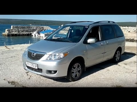ᴴᴰ 2004 Mazda Mpv 2 0l Td Silver In