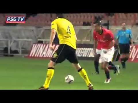 Nenê vs dortmund   - PSG Dortmund 4/11/2010
