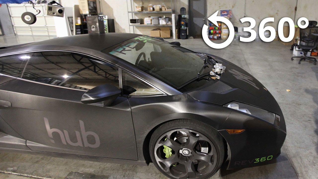 Lamborghini Ride 360 Youtube