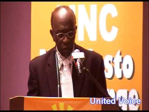 Jack Warner Manifesto Launch Speech Part 1