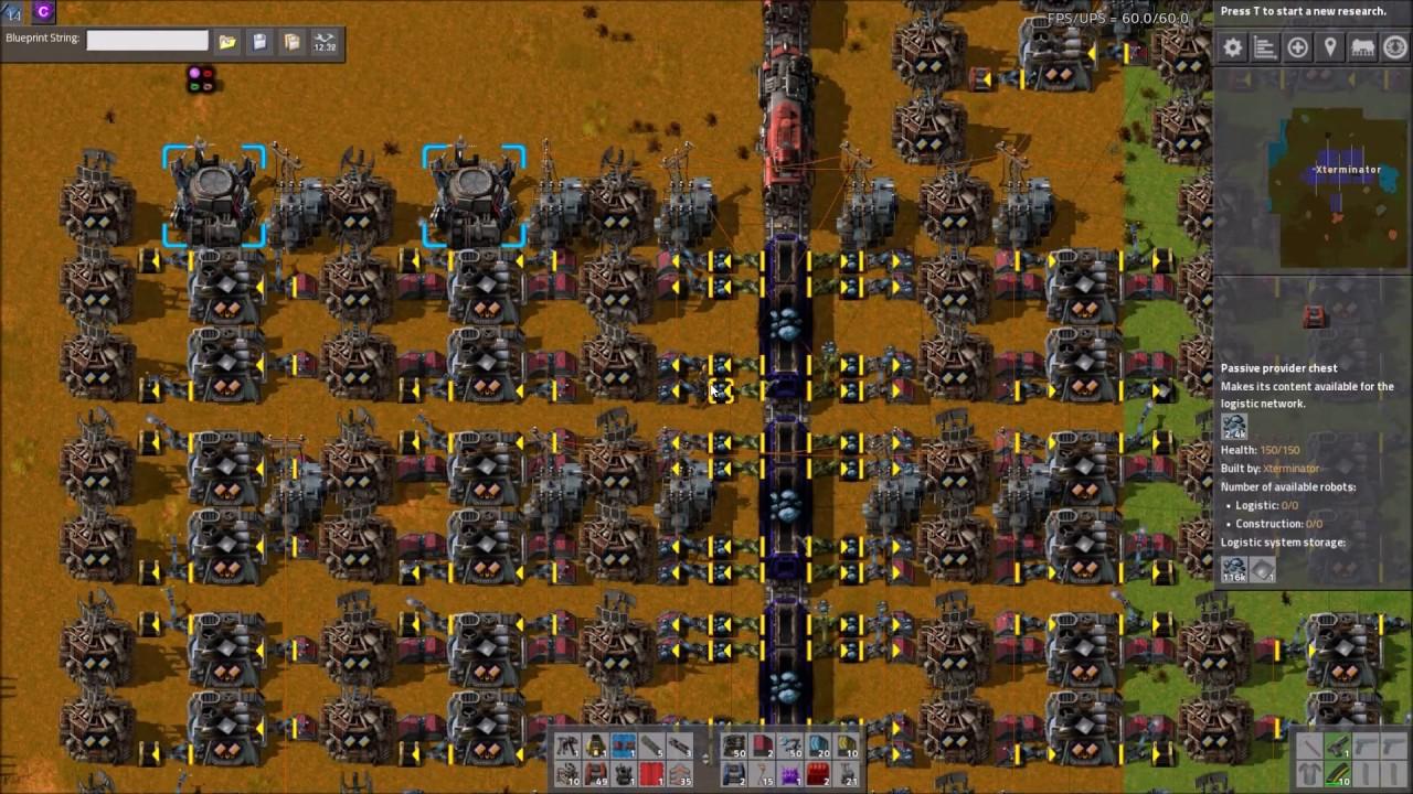 Factorio Workshop - Building A Better Factory :: Train Smelting Design