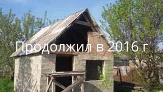 Как построить баню из кирпича своими руками (видео)