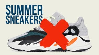 My Top 6 Sneakers for Summer    How to wear sneakers    Men