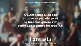 Fantasia Bad Bunny x Alex Sensation Original - Letra Lyrics.mp3
