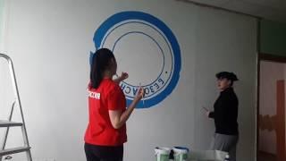 Открытие нового офиса\ Роспись стены\ Акриловые краски(, 2017-02-16T02:17:51.000Z)