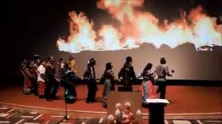 Sarkar Family, USA Travek Oklahoma Indian Chickasaw Cultural Center Dance Music July 2015