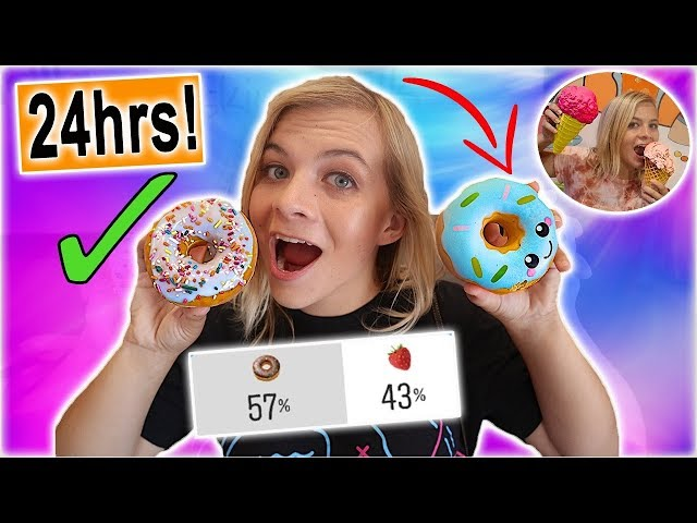 I Only Ate Squishy Food vs Real Food For 24 Hours! (YOU DECIDE!) // SoCassie