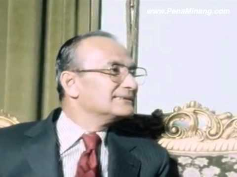 Saddam Hussein Bertemu Tun Hussein Onn