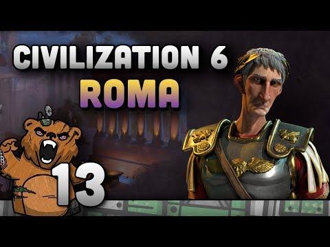 Civilization 6 | Roma #13 - Gameplay Português PT-BR