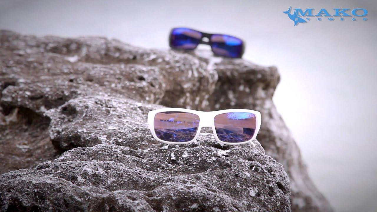 648dc037f41 Polarized Sunglasse types for Fishing  Mako Eyewear - YouTube