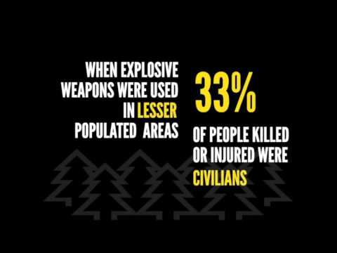 5 years of explosive violence data from Action on Armed Violence