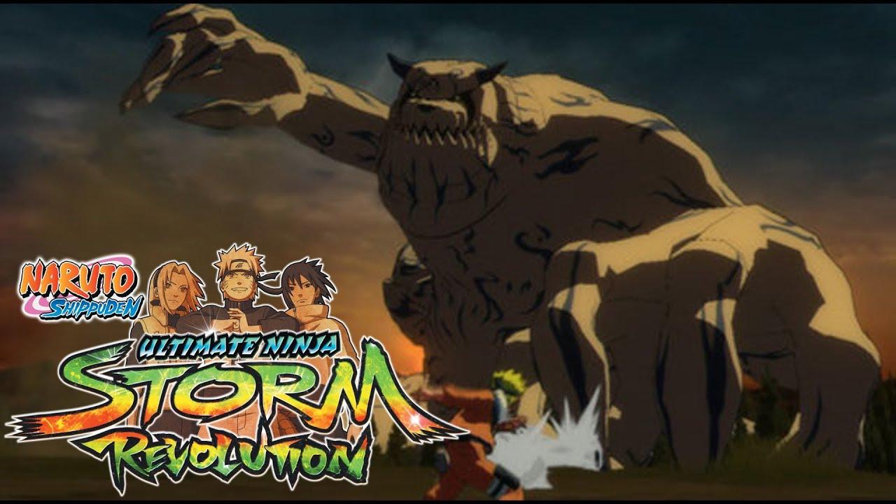 Naruto Shippuden Ultimate Ninja Storm Revolution - Shukaku ...