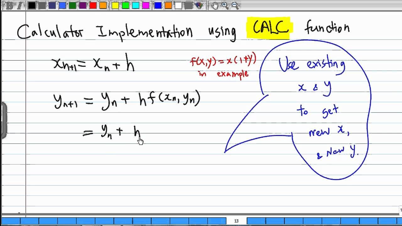 Please do 23 (c) equation 5,6 is just euler's meth.   chegg. Com.