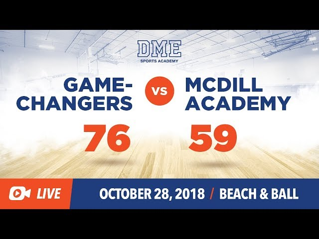 Game Changers vs. McDill