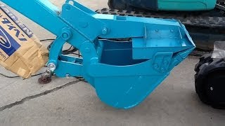 Repeat youtube video クボタRX306建機・バリバリの新車に「ショベルハンド」装着 編
