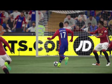 FIFA 17 English Premier League (Matchday 16): Crystal Palace vs. Manchester United (12/14/2016)