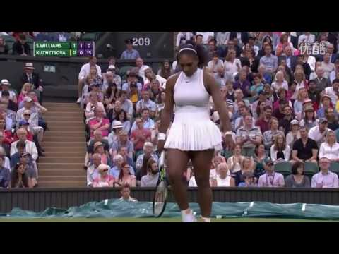 Serena Williams VS Svetlana Kuznetsova Highlight 2016 R4