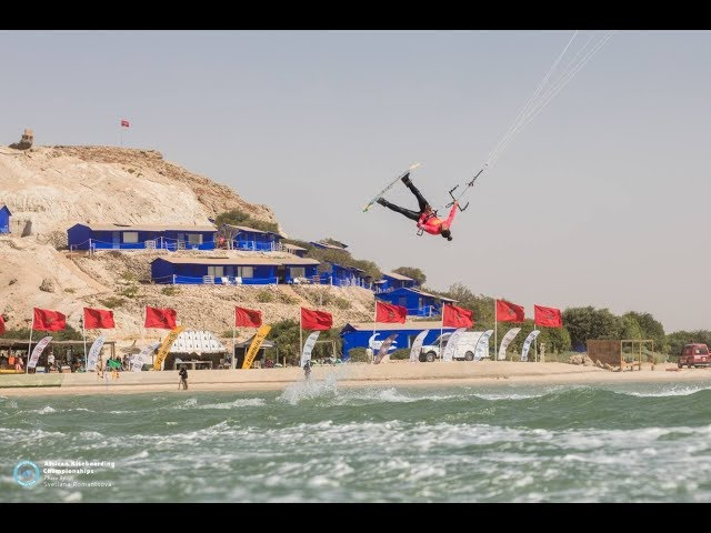 Day Two of the African Kiteboarding Championships 2019 in Dakhla, Morocco