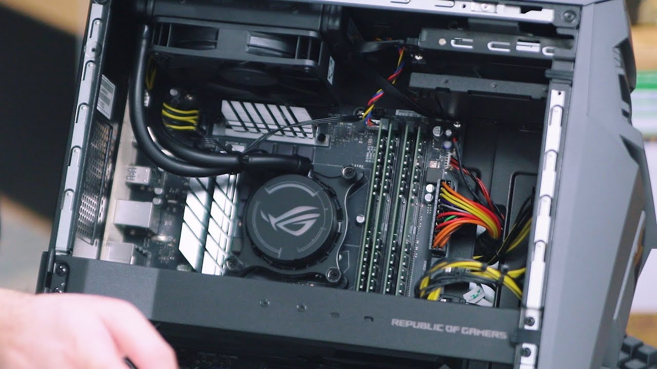 Watch Unboxing The Asus Rog Strix Gl12 Gaming Tower Youtube