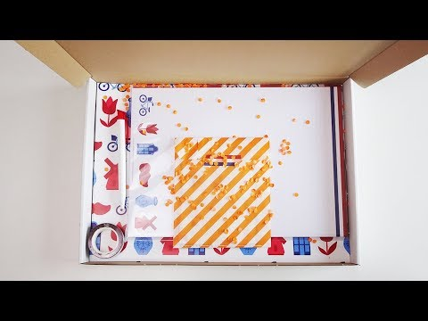 Unboxing Stationery Box april 2018: Holland