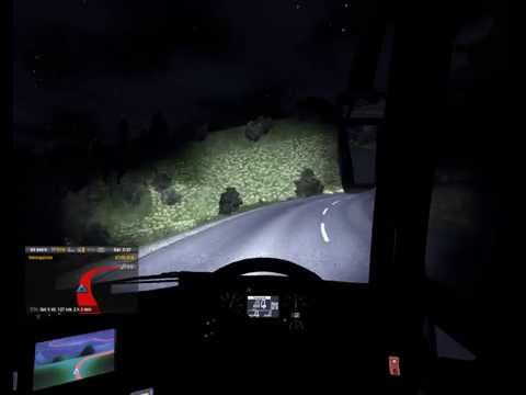ETS2 Indonesian Bus Teste NPM Road B Tinggi To Lampung HD