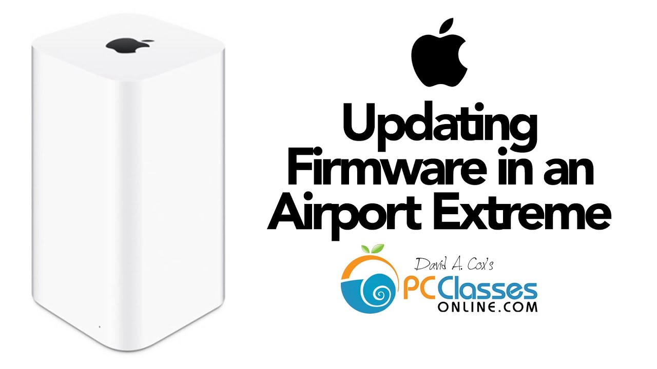 Update Firmware in an Airport Extreme [HOW TO]