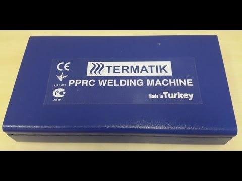 Сварочный аппарат для ппр Termatik Lux | распаковка | анбоксинг | Unboxing