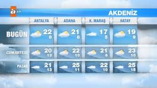 Hava Durumu (24-26 Nisan) - atv