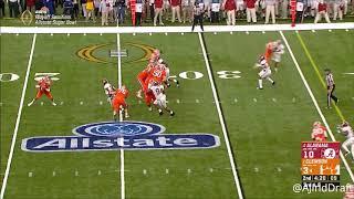 Levi Wallace (Alabama CB) vs Clemson - 2017