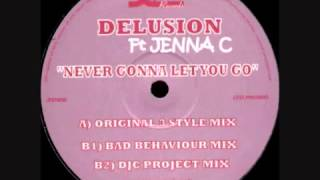 Delusion Feat. Jenna.C - Never Gonna Let You Go (Bad Behaviour Remix).mp4