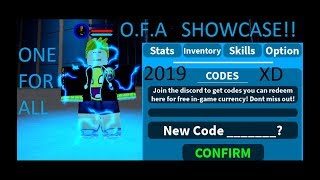 Boku No Roblox Remastered | New Code July 2019 | (OFA) All Might One For All Showcase