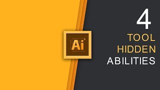 These 4 Illustrator Tools Have HIDDEN Abilities