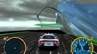 NFSMW Test All Cop Cars In The Bridge