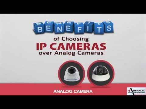 Benefits of Choosing IP Cameras over Analog Cameras